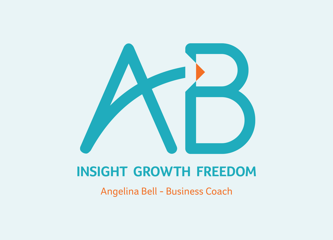 Lettering logo design